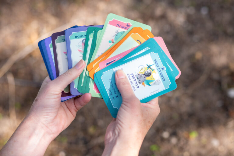 נשים פורצות דרך קלפים פרושים